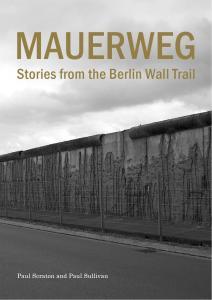 Mauerweg cover